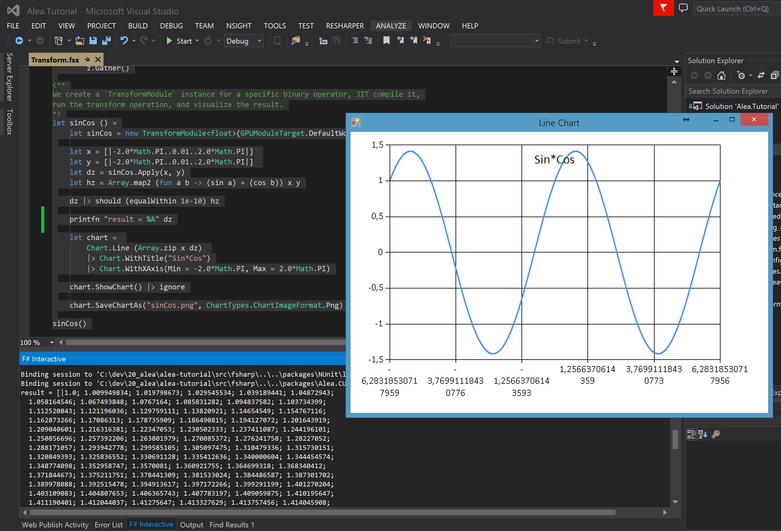 Accelerate  NET Applications with Alea GPU