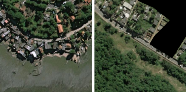 Figure 1: Example 3-band SpaceNet imagery.