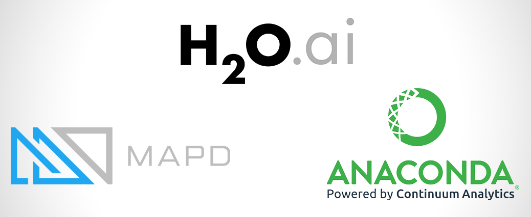 GOAI Founders: H20.ai, MapD and Continuum Analytics