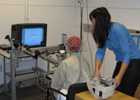 EEG experiment at the Gazzaley Lab at UCSF, Sandler Neurosciences Center.
