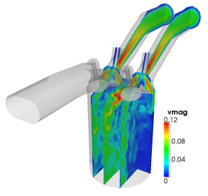 Accelerating a C++ CFD code with OpenACC