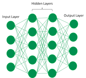 Figure 2: Generic network with two hidden layers