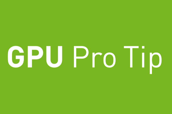 CUDA Pro Tip: Control GPU Visibility with