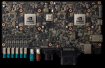 Figure 1. NVIDIA DRIVE PX 2 AI Car Computer.
