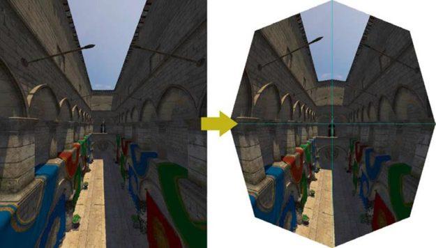Lens matched shading VRworks SMP API VR