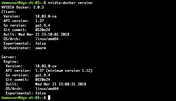 NVIDIA DGX Kubernetes Docker