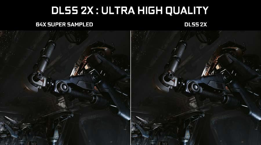 NVIDIA Turing GPU architectdure DLSS ultra high quality