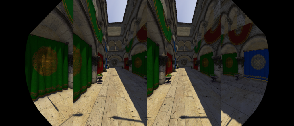 VRWorks Turing MVR example shot