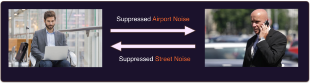 noise suppression example image