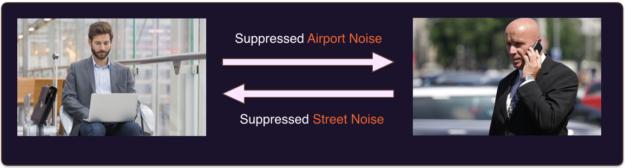 noise suppression example image