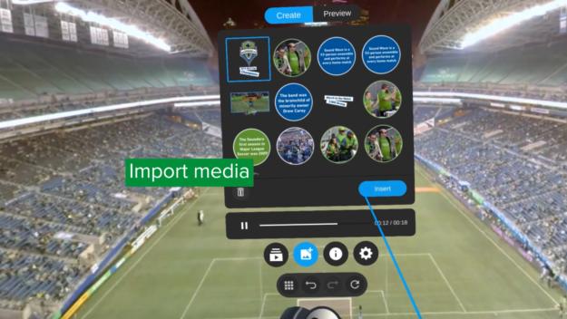 SPIN Play interactive screenshot