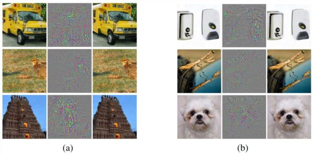 Misclassified images example
